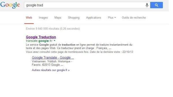 requtete google translation