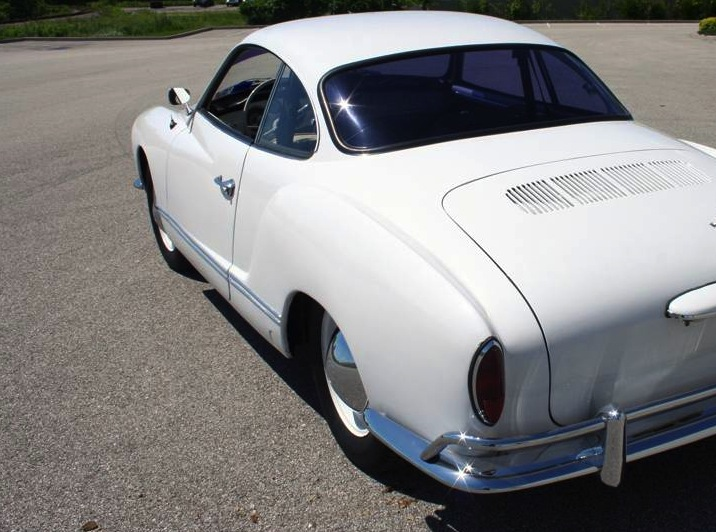 Electrovelocity 100 Electric 1965 Volkswagen Karmann Ghia