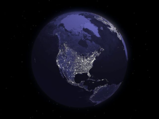 North America Grid Outage www.electroverse.net