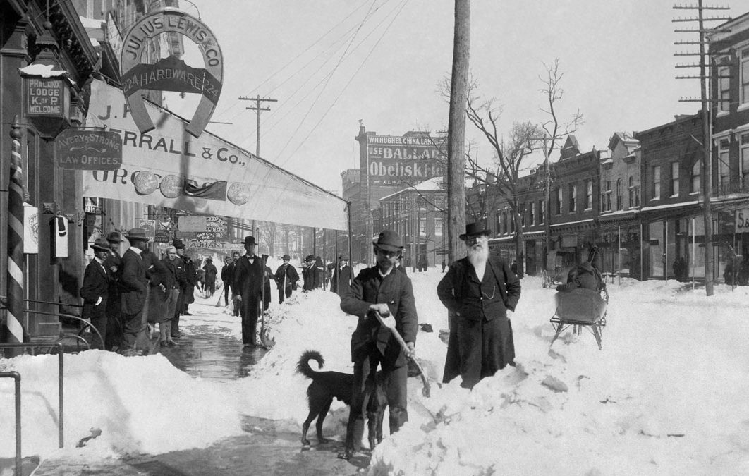 """The """"Great Arctic Outbreak of February 1899"""" - Polar ..."""