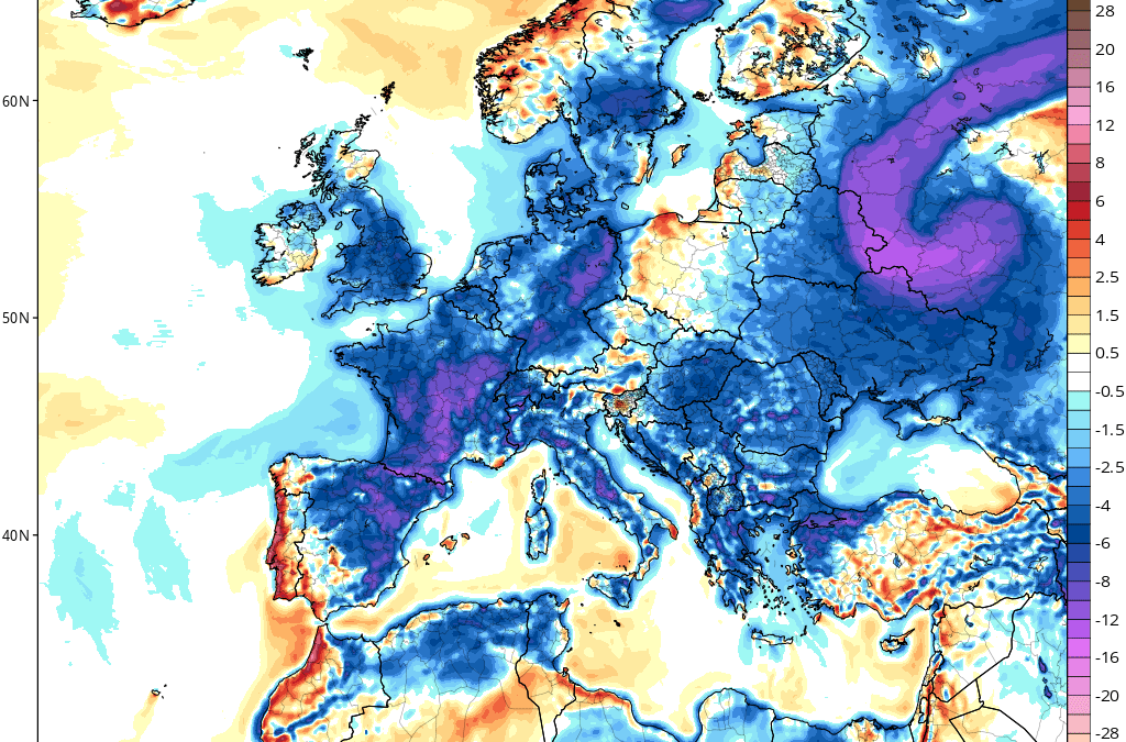 "Continent-Wide Summer Chill Engulfs Practically ALL of Europe — ""Crickets"" from the MSM"