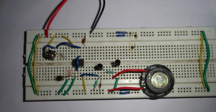 M66t Melody Generator Circuit Diagram