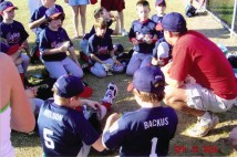 Coaching the League City Little League Champions!