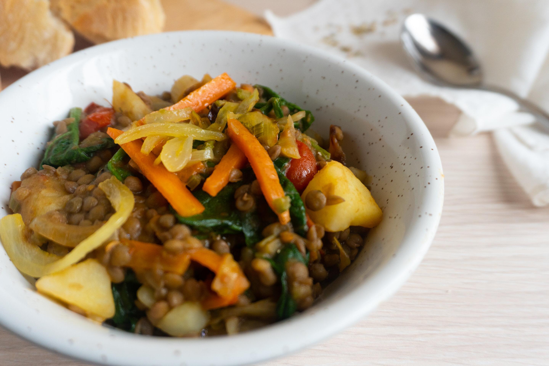 Stufato di lenticchie