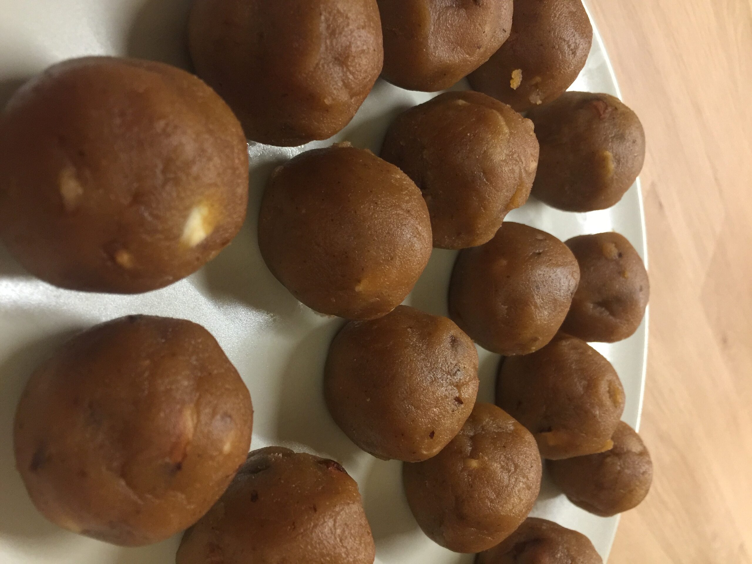 Besan Laddu dolce indiano