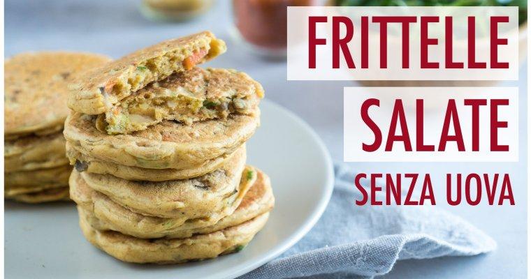 Frittelle salate senza uova