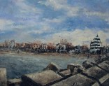 "Canvas 20, ""Wintertime in Senigallia"""