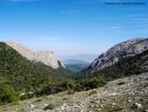 Valle de Leyva y Carrascoy al fondo