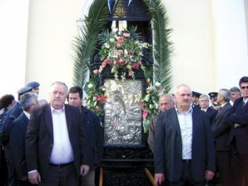 Τα Φιλιατρά γιόρτασαν τον Αγιο Χαράλαμπο