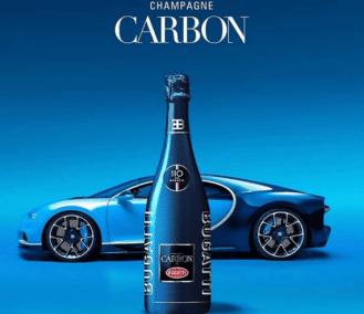champagne carbon - bugatti