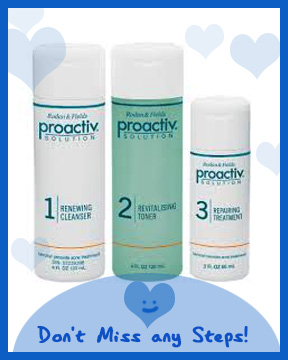 proactive renewing cleanser steps
