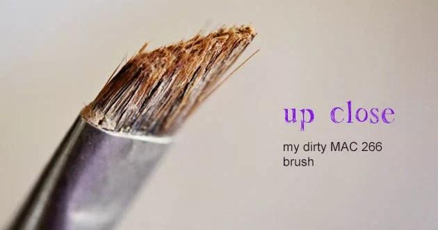 Dirty MAC 266 brush photo up close