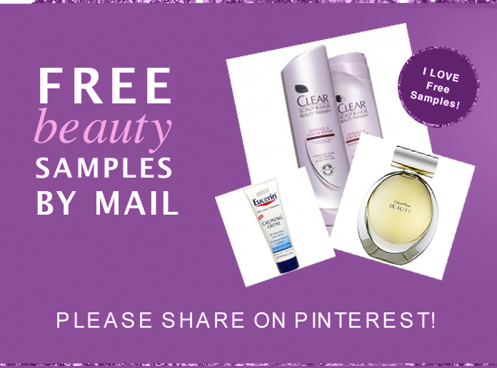 Free beauty samples by mail