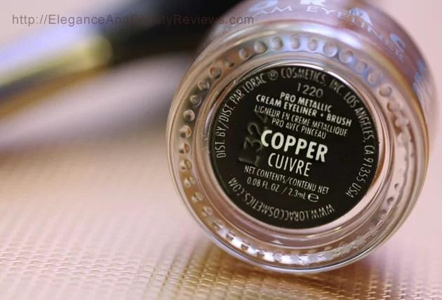 LORAC introduces PRO Metallic Cream Eyeliner bottom label