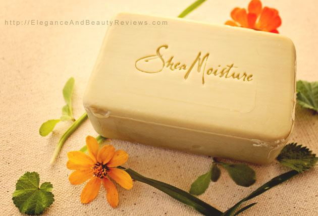 Shea moisture raw shea butter soap review