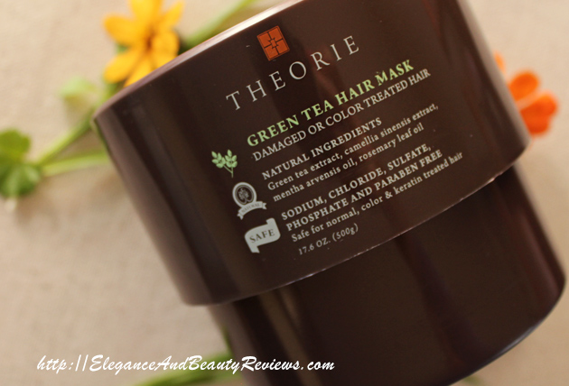 THEORIE Green Tea Hair Mask Review