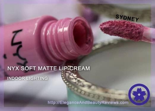 NYX Sydney soft matte lip cream swatch