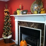 35 Amazing Mantel Decoration Ideas For Thanksgiving