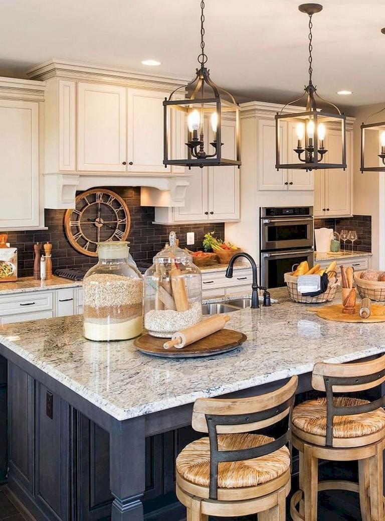 65+ Beautiful Modern Farmhouse Kitchen Makeover Decor Ideas