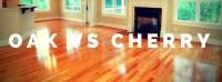 Oak vs. Cherry Hardwood Floors - Elegant Floors