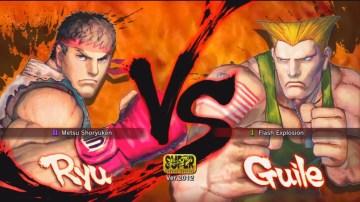Ryu VS Guile 2012