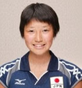 中学生時代バレーボール選手の狩野舞子