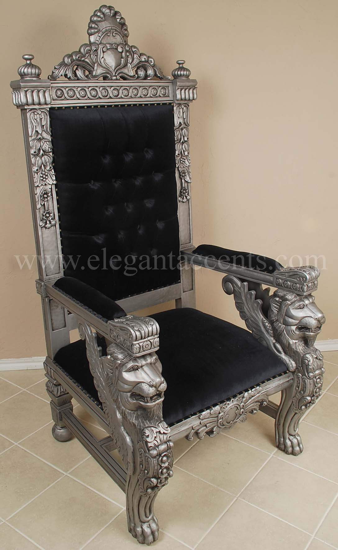 King Chairs Black King Throne Chair Imgkid The Image Kid