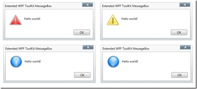 Extended WPF Toolkit