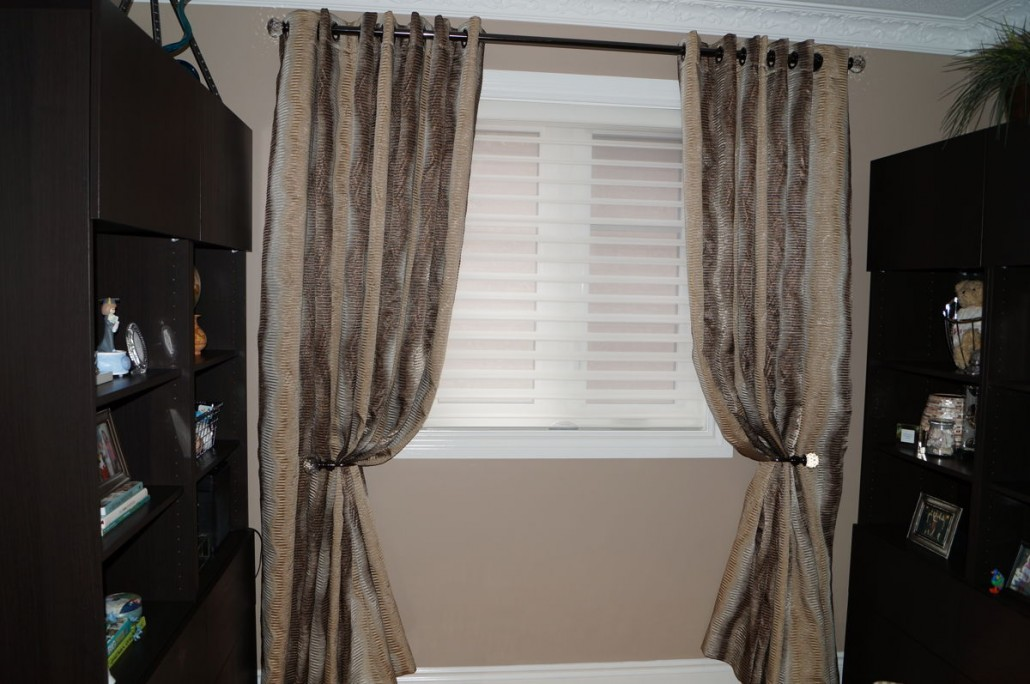 blinds for living room with curtains wall tiles office window treatments gta | custom elegant ...