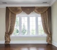 Living Room Window Coverings | Custom Drapes ...