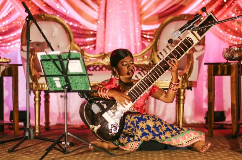 half saree photo and video