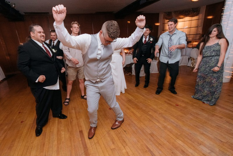 Capitol Ballroom wedding DJ