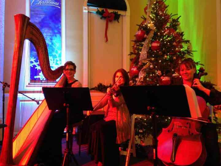 1bc3b9f03f3 Chaine de Rotisseurs  Christmas Eve Service at Christ Covenant Church with  The Elegant Harp String Trio