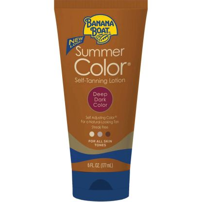 Summer Color Self Tanning Lotion