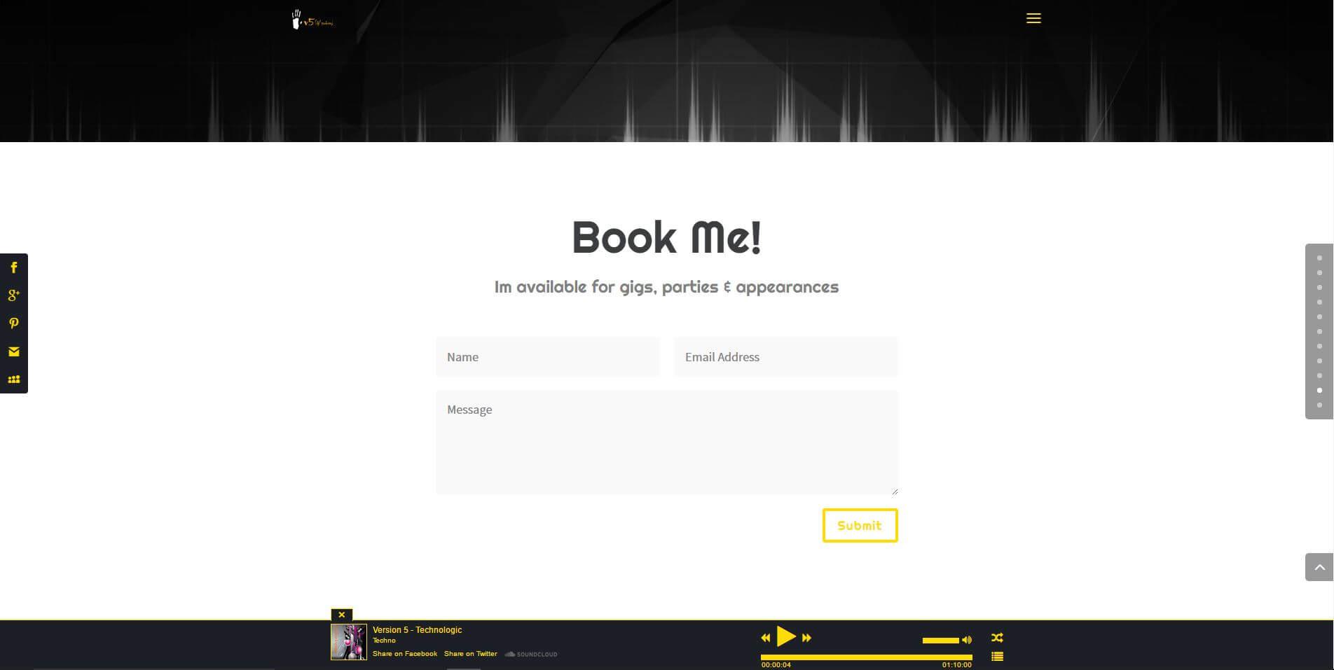 DJ One Page