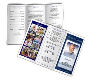 Funeral Brochure Funeral Brochures Memorial Brochure Templates