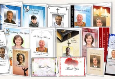 Funeral Thank You Note Card Samples Elegant Memorials