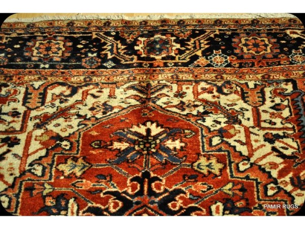 Antique Persian Heriz Circa 1900