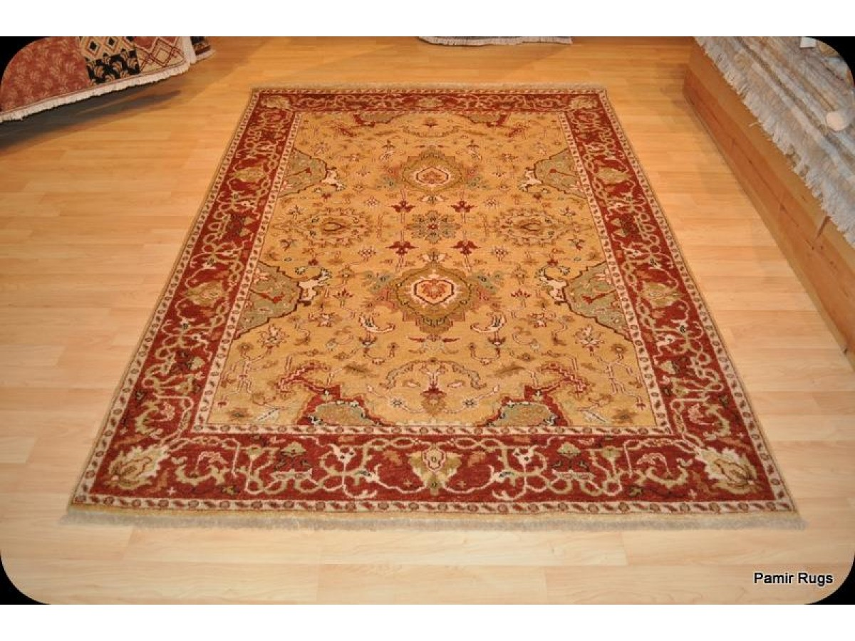Handmade Persian Wool Rug Hand Knotted on Sale only 1450