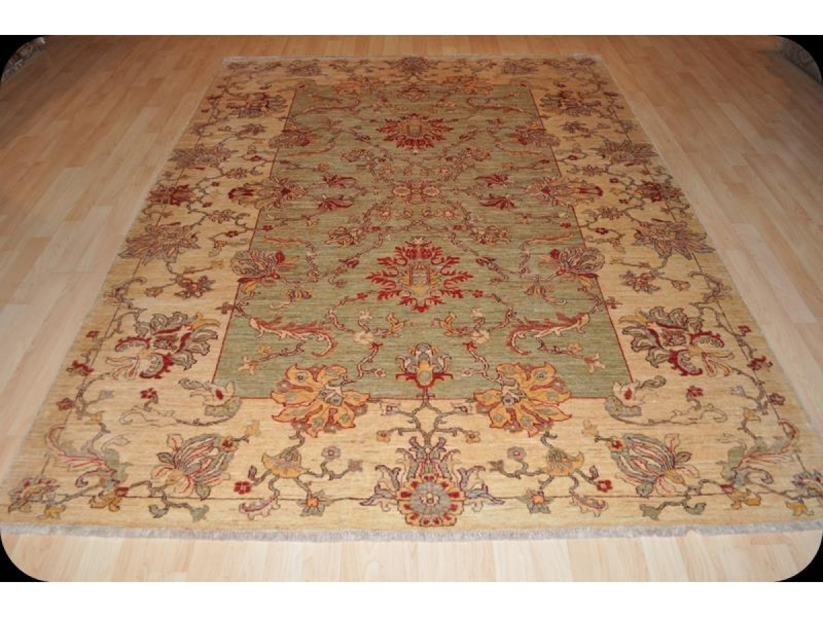 Hall Green Oriental Rugs Light Muted Color Vegetable Dyed Rug Persian Design