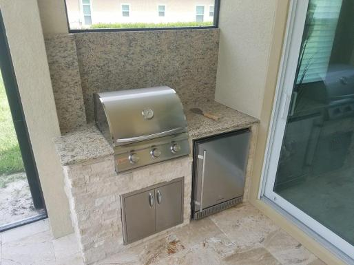 Outdoor kitchens in new construction