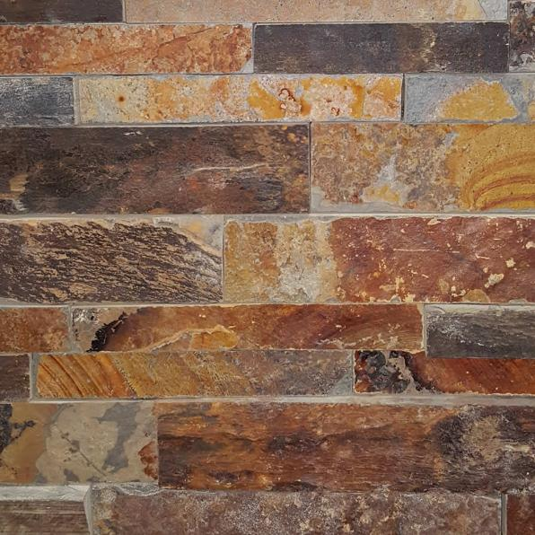 California Gold - Stacked Stone Sample