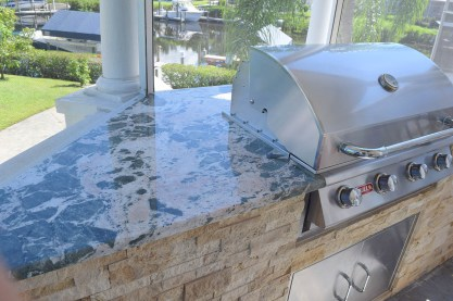 Custom Outdoor Kitchen Design & Construction Services of Fort Myers, Florida