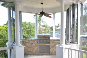 Outdoor Kitchen Construction Services of Fort Myers, Florida - Elegant Outdoor Kitchens