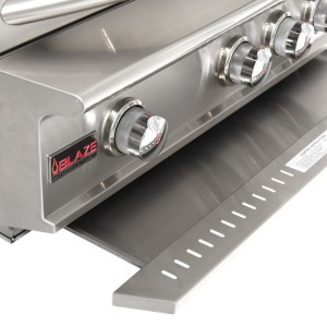 Blaze Professional 34-Inch 3 Burner Built-In Gas Grill With Rear Infrared Burner - Drip Tray