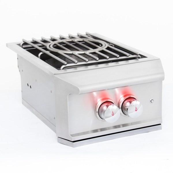 Blaze Professional Built-in Power Burner - Side Profile