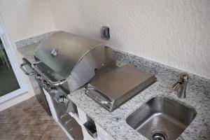 Materita in Pelican Preserve Outdoor Kitchen BBQ Island