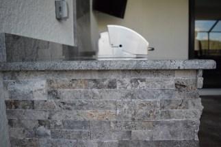 Custom Outdoor Kitchen Built Inside Bridgetown Pulte Homes Community