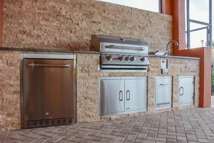 Custom Outdoor Kitchen Construction Pelican Preserve WCI Fort Myers, Florida