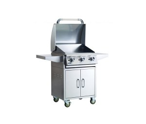 BULL 24 Commercial Style Griddle Cart-2